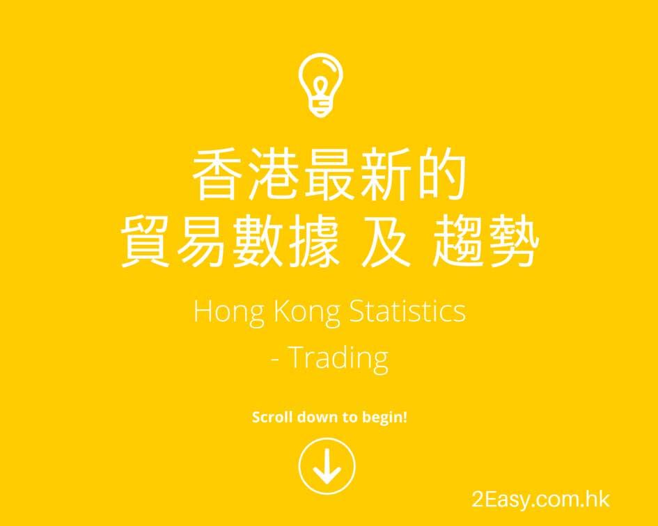 2015香港最新的貿易數據及趨勢 Hong Kong Statistics - Trading