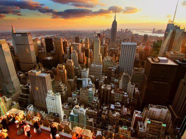 全球17個最多富人聚居的城市 1-New York City