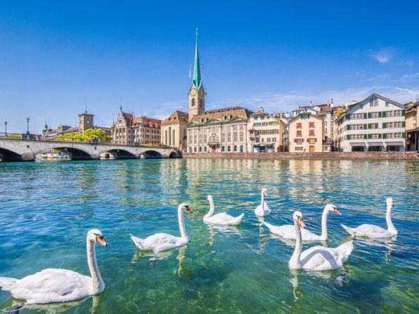 全球17個最多富人聚居的城市 13-Zurich
