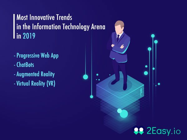 Most Innovative Trends in the Information Technology Arena in 2019